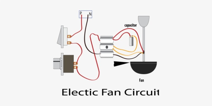 3 Wire Ceiling Fan Capacitor Diagram