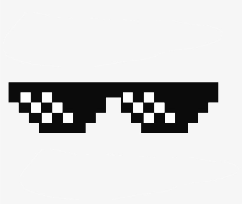 Deal With It Glasses Thug Life Sunglasses By Swagasaurus