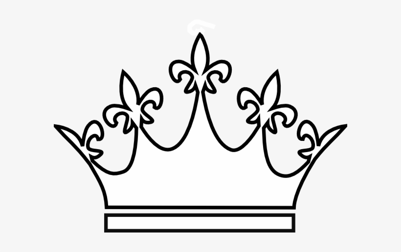 King And Queen Crowns Drawings Queen Crown White Png 600x437 Png Download Pngkit