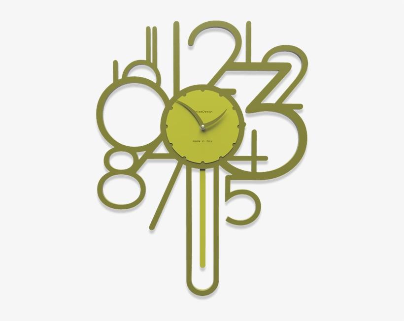 orologio da parete quadrato kubo è formata da cinque elementi che possono essere applicati a piacere sulla parete. Callea Design Joseph Orologio A Pendolo Da Parete Moderno 580x580 Png Download Pngkit