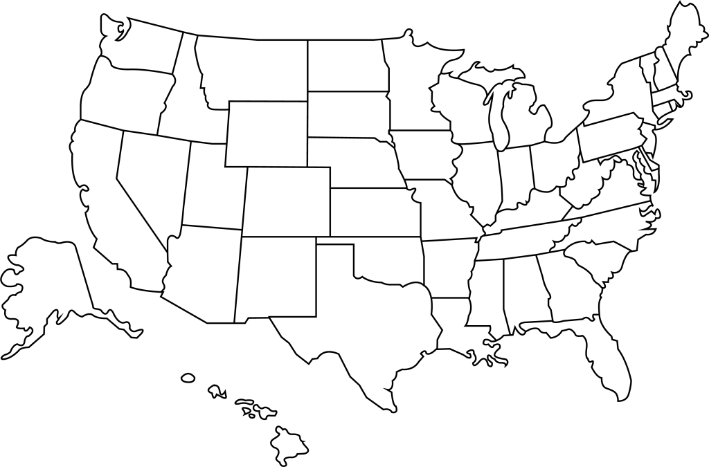 Whether it be data quality or user experience, they all still get it wrong too often to be acceptable, and t. Download Outline Of The United States Blank Us Map High Resolution Full Size Png Image Pngkit