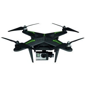 Xiro Xplorer G drone pack with stabilized nacelle for GoPro 3 and 4