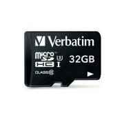 Carte microSD VERBATIM class 10 UHS-I U3 32GB