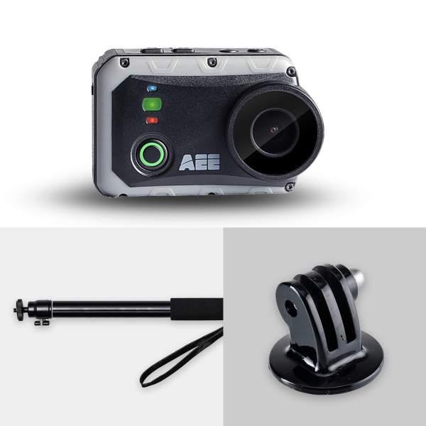 """Caméra étanche s80 avec perche et adaptateur 1/4"""" vis"""