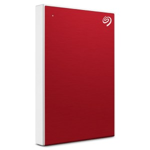 Disque dur externe 1TO SEAGATE Back Plus Slim New rouge