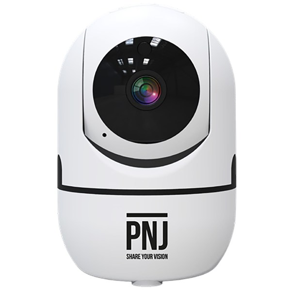 Caméra d'intérieur à tête rotative motorisée PNJ IP CAM 01