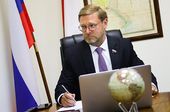 Косачев отверг обвинения Норвегии в адрес России в кибератаке против парламента