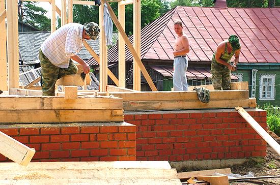 Многодетным дадут льготу на погашение ипотеки под строительство дома