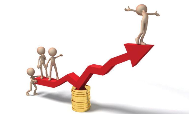 शेयरको मूल्यमा सामान्य वृद्धि