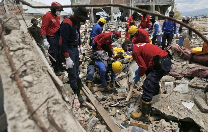 इन्डोनेसियामा भूकम्प गएको १५ दिनपछि खोजी र उद्धार कार्य बन्द