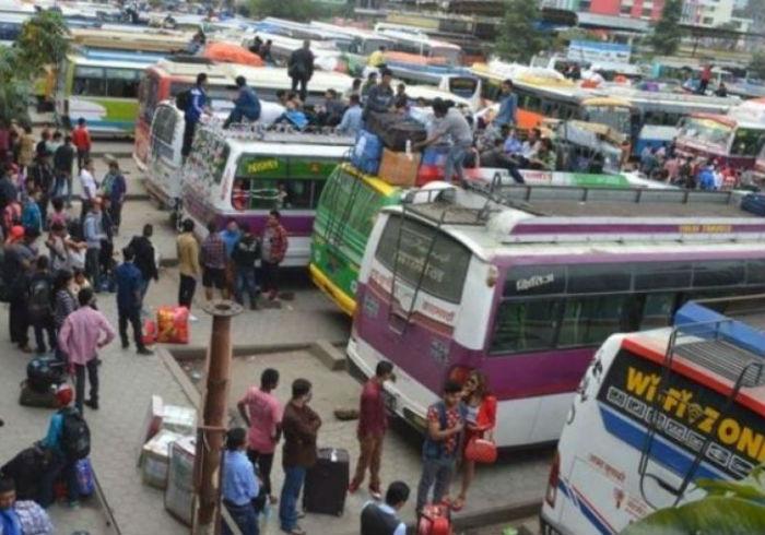 दुई चालक नराख्ने ४५ सवारी साधन कारवाहीमा