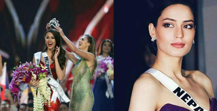 मनिता देवकोटाको मिस युनिभर्सको यात्रा टप १० सम्म, फिलिपिन्सको  क्याट्रिओनाले पहिरिइन् ताज..
