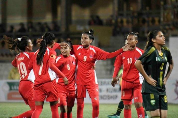 राष्ट्रिय महिला फुटबल टोलीको बन्द प्रशिक्षण आइतबारदेखि