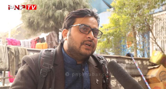 अपशब्द बोल्दै पत्रकारलाई आयो ज्यान मार्ने धम्की :  'नेपाल फर्कने बित्तिकै तलाई मार्छु' (भिडियो)