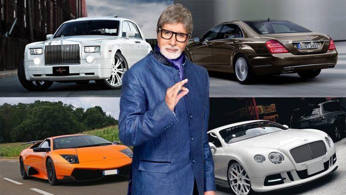 यस्ता छन् बलिउडका महानायक अमिताभ बच्चनका महँगा कारहरु