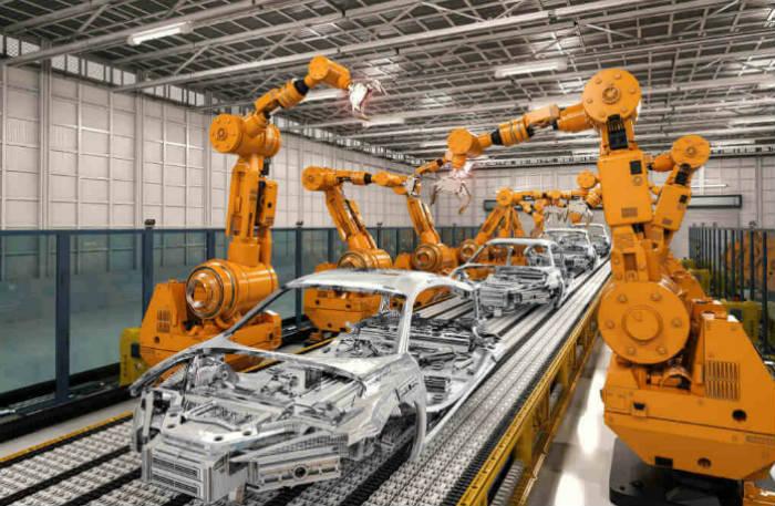 अमेरिकी कम्पनीमा ठूलो संख्यामा रोबोटको प्रयोग