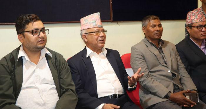 सरकारले वार्ता र संवादको ढोका बन्द गरेको छैन : वरिष्ठ नेता नेपाल