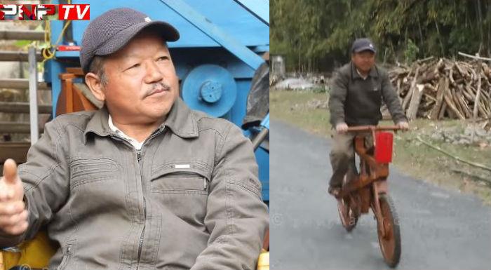 नेपाली इन्जिनियर जसले बनाए काठकै साइकल, विश्वलाई पारे चकित (भिडियो)