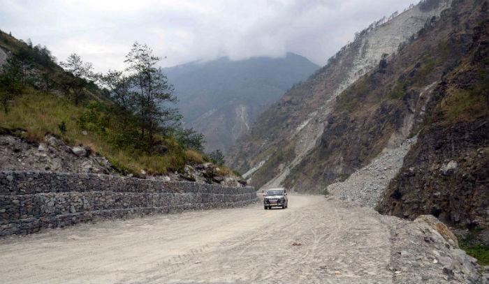 स्याफ्रुबेँसी-मैलुङ खण्डको राजमार्ग खुला