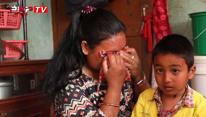 ४ तल्लाबाट खसेका यी बालकको यस्तो दयानिय अवस्था, आर्थिक अभावको कारण अप्रेशन हुन् सकेन (भिडियो)