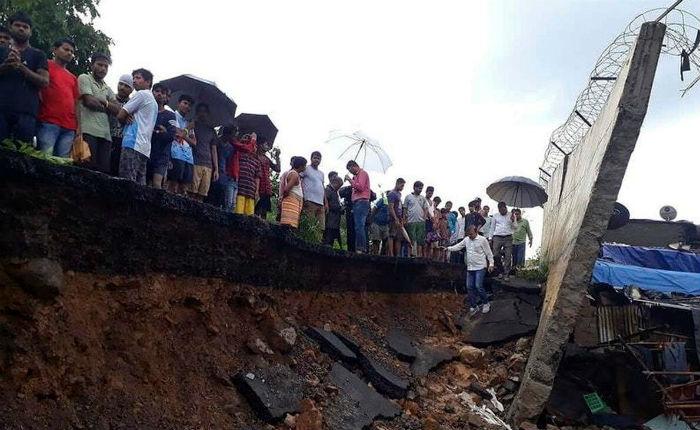मुम्बईमा पर्खाल भत्किदाँ ज्यान गुमाउनेको सङ्ख्या २१ पुग्यो