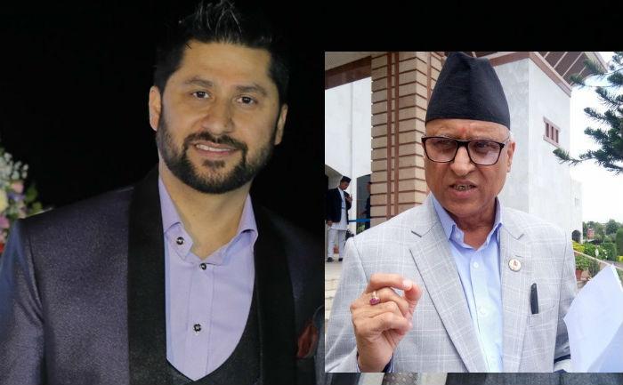 रवि लामिछानेलाई प्रहरी हिरासतमै भेट्न पुगे काँग्रेस नेता बडु