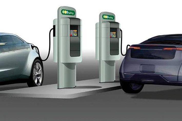 विद्युतीय गाडी चार्ज गरेको चार रुपैयाँ !