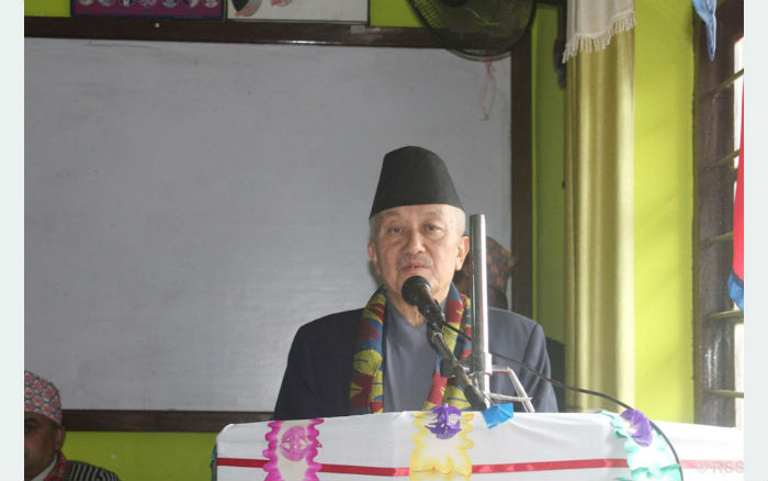 जनताको मन जितेर संविधान परिमार्जन गर्न सकिन्छ : पूर्वसभामुख नेम्वाङ