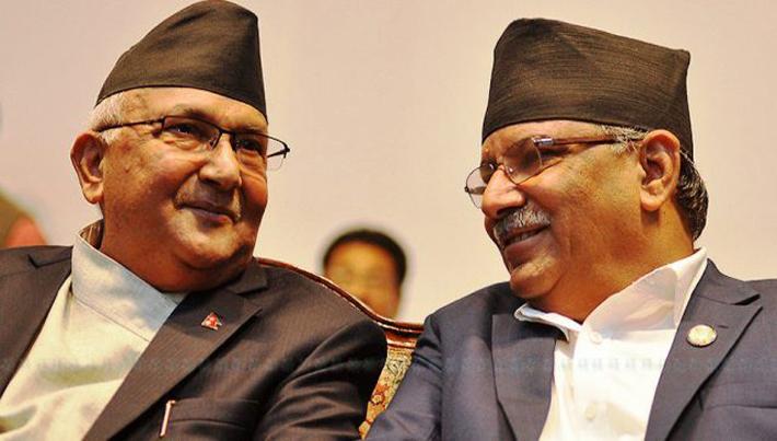 यस्तो छ समृद्ध नेपाल सुखी नेपालीको अभियानमा जुटेका ओली- प्रचण्डको राजनीतिक जीवन