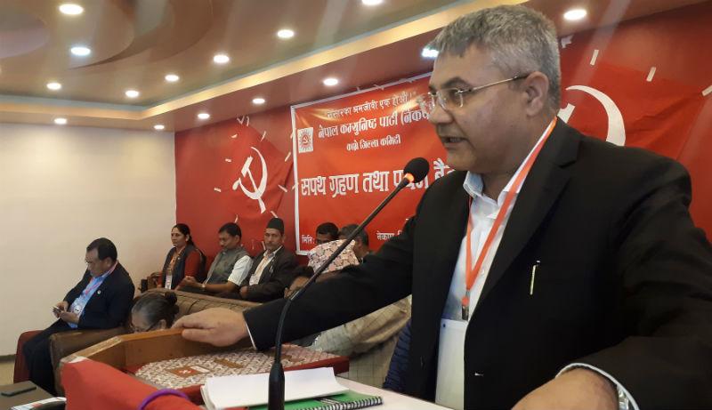 कानूनी शासनमा कसैले उन्मुक्ति पाउँदैनन् : मन्त्री बाँस्कोटा