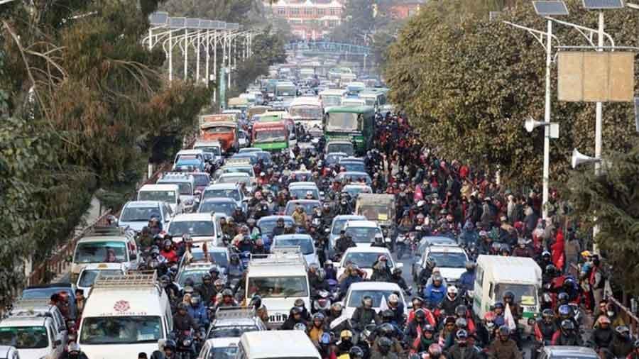 मन्त्रीज्यू, काठमाडौँको जाम कहिले खुल्छ ?