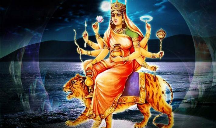 आज दशैंको चौथो दिन कुष्माण्डा भवानीको पूजा–आराधना गरिँदै