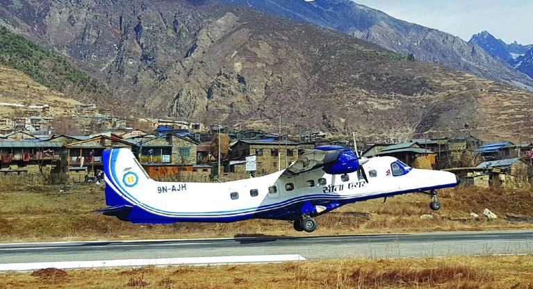 लुक्ला उडेको सीता एयरको विमान दुर्घटनाबाट जोगियो