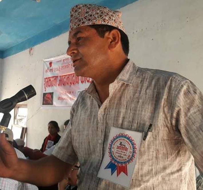 विवेकहीन नेतृत्वको पछि लाग्नु आफैलाई अन्धकारमा उभ्याउनु हो: डण्डि प्रशाद शर्मा
