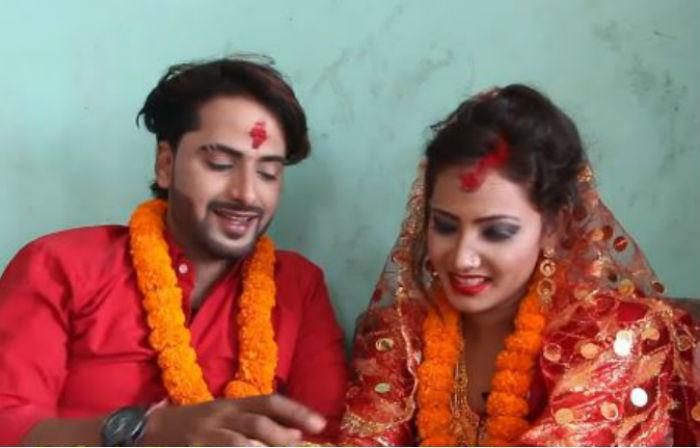 रविना वादीले सुटुक्क गरिन आफ्नो प्रेमीसँग विवाह