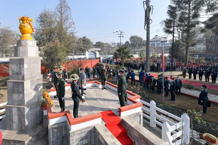 प्रधानमन्त्री ओलीद्वारा शहीदप्रति श्रद्धाञ्जली व्यक्त (फोटोफिचर)