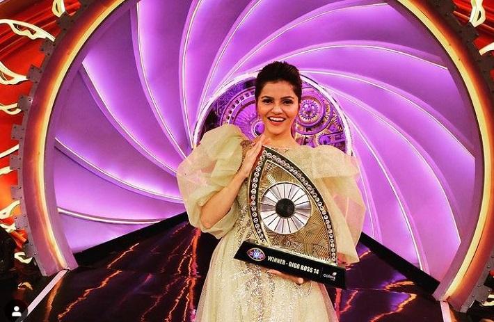 बिग बोस १४औं सिजनको विजेता बनिन् 'रुबिना दिलाइक'