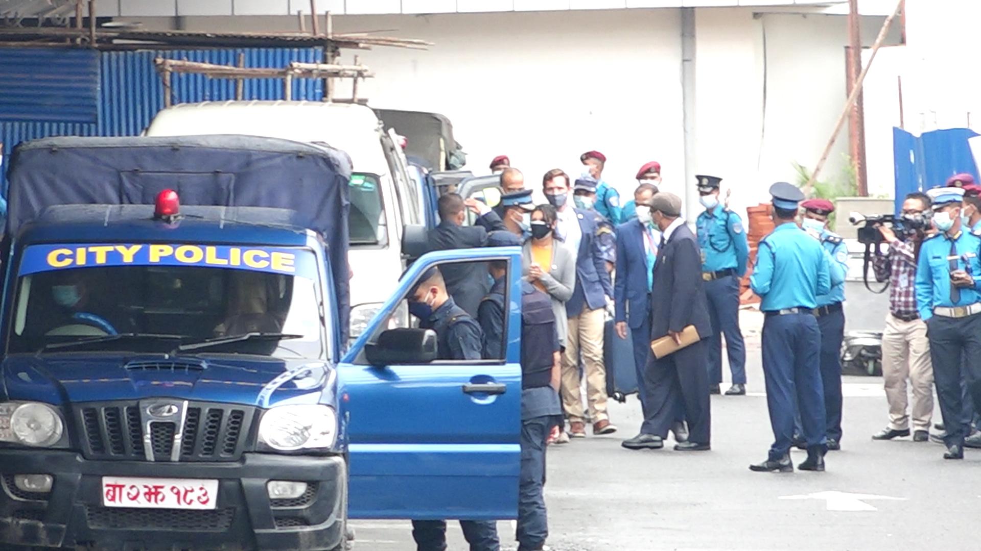 एमसिसी उपाध्यक्ष फतिमा सुमार काठमाडौँमा, सुरक्षा व्यवस्था अत्यन्तै कडा