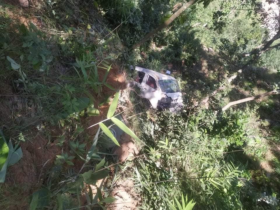 काभ्रेमा माइक्रो बस दुर्घटना,  १८ जना घाइते