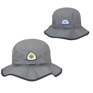 PNT Logo Bucket Hat - Gray