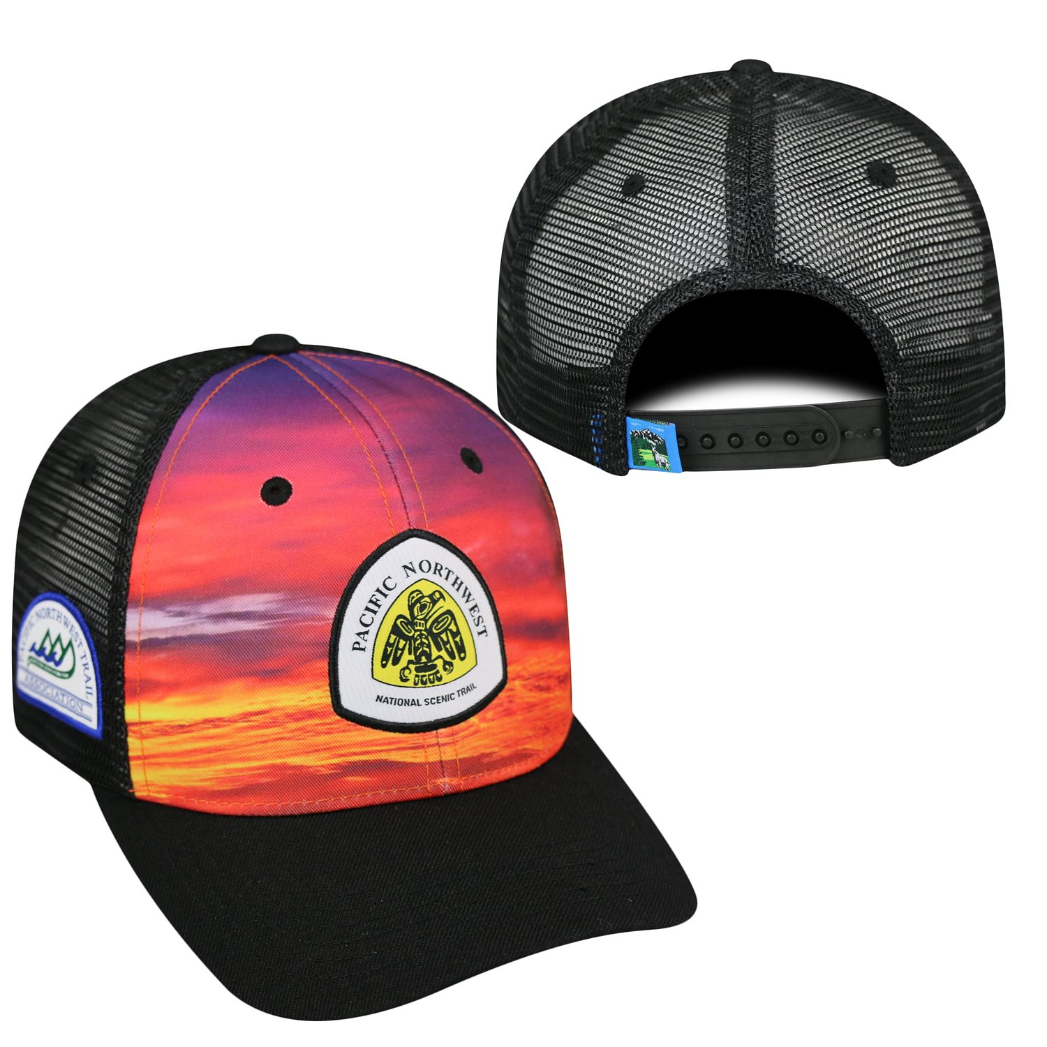 Stay Visible with this Awesome Pacific Northwest Trail Skyline Hat 12e55bf02a1