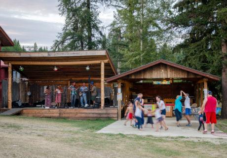 A Community Gathering in Yaak, Montana