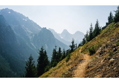 Pacific Northwest Trail in the Buckhorn Wilderness