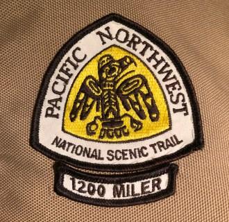 1200 Miler Patch