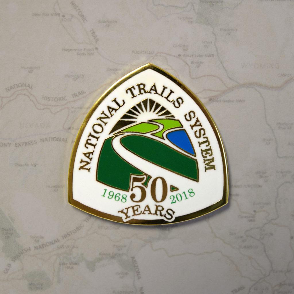 NTS 50th Pin