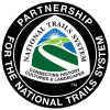 Partnership for the National Trails System Logo