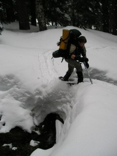 Crossing a Snowbridge