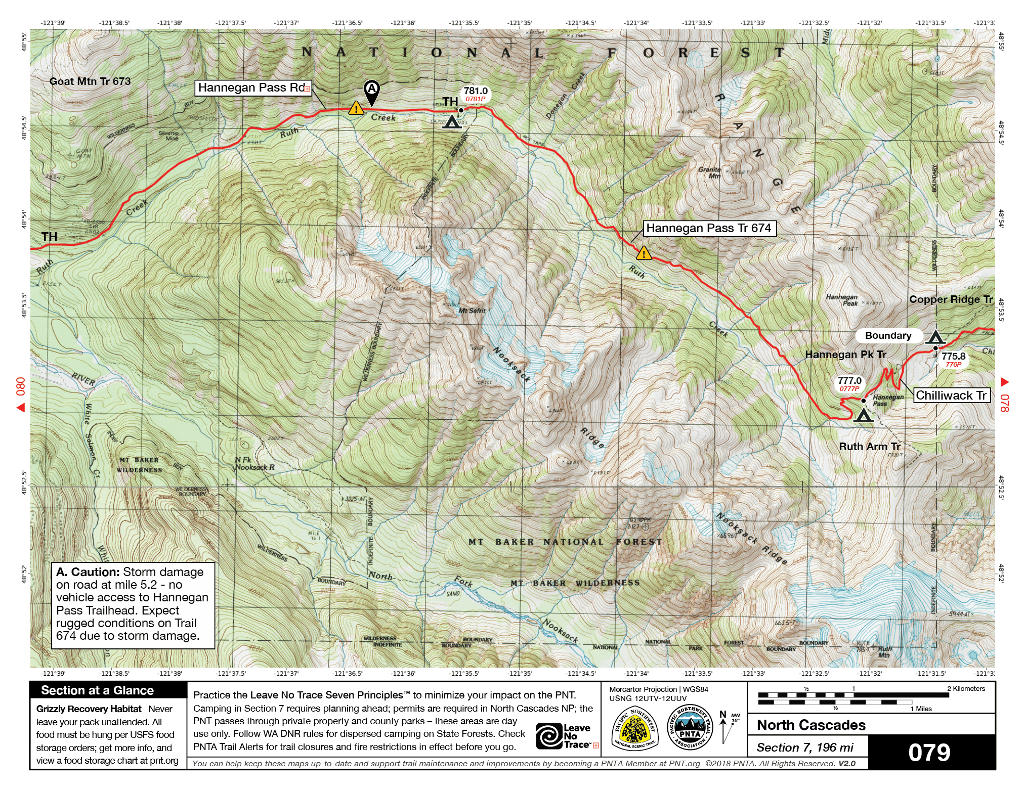 Trail Alerts - Pacific Northwest Trail Closures and Conditions