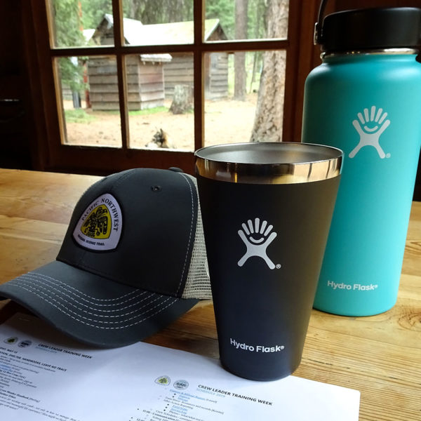 2019 Crew Leader Training was sponsored by Hydro Flask.