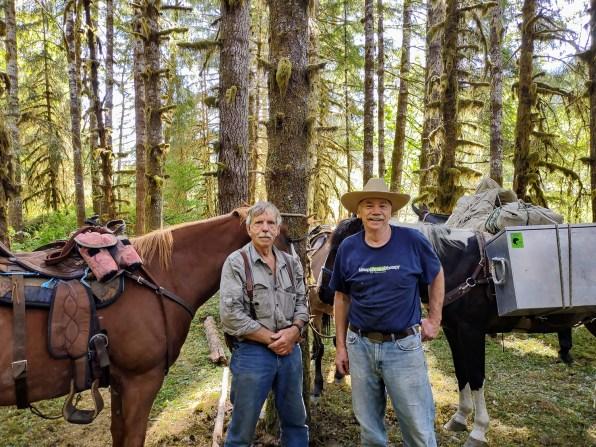 BCHW Volunteers Larry Basinger and Harold Weisse